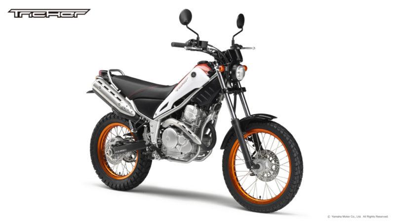 引き起こしやすい超軽いバイク