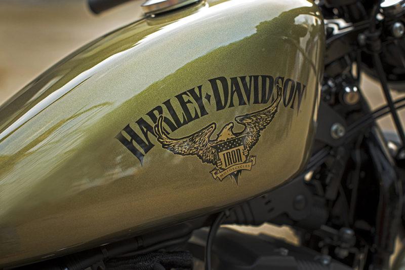 ハーレーダビッドソン Iron883