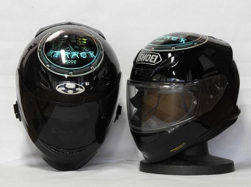 ヘルメット用ステッカー