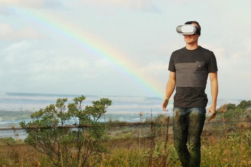 スマホ用VRヘッドセット