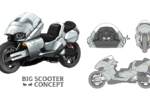 オリジナルバイク第4弾「ビッグスクーター コンセプト」