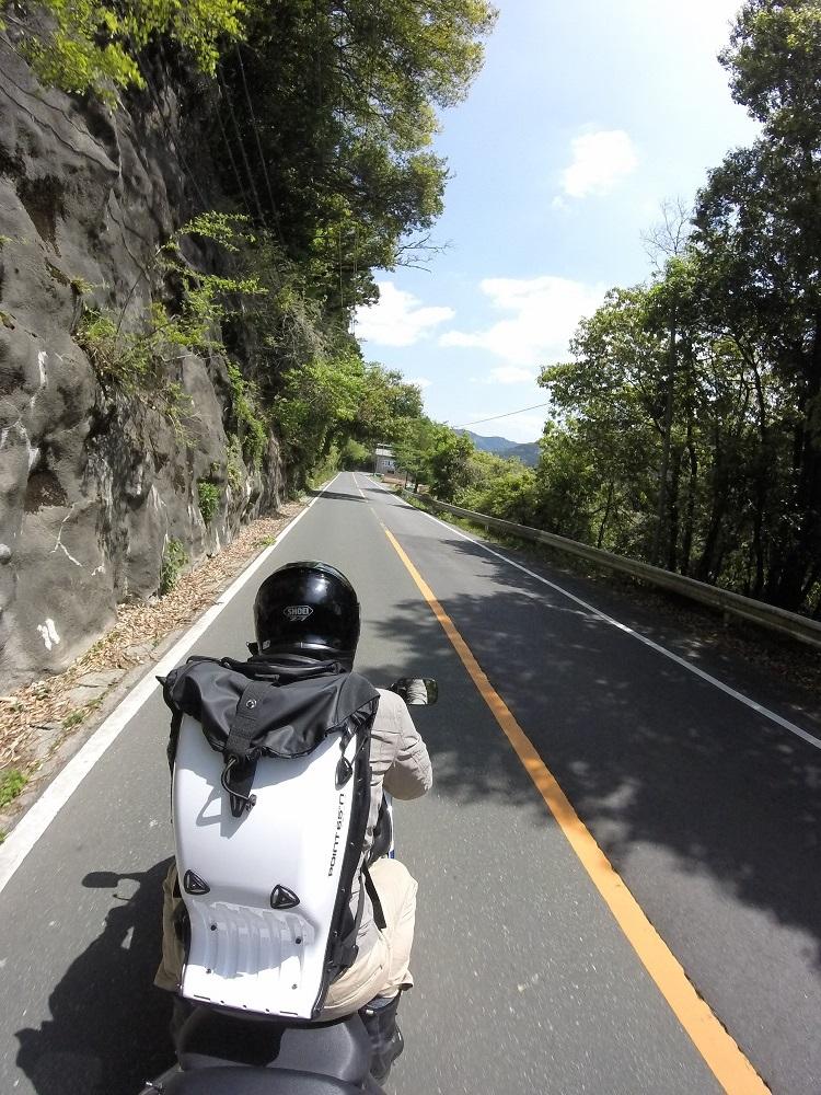 バイク乗車中に3人称視点で撮影する方法(初級編