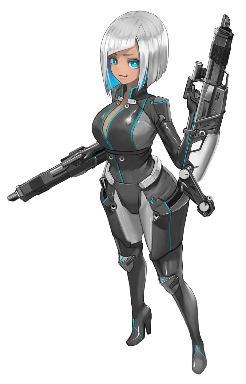 ヴァネッサ装甲×少女